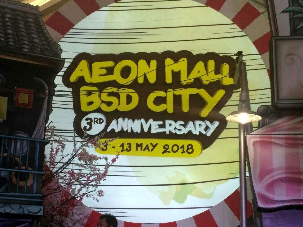 aeon mall bsd city 3rd annniversary