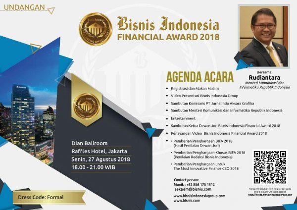 bisnis indonesia bifa award 2018