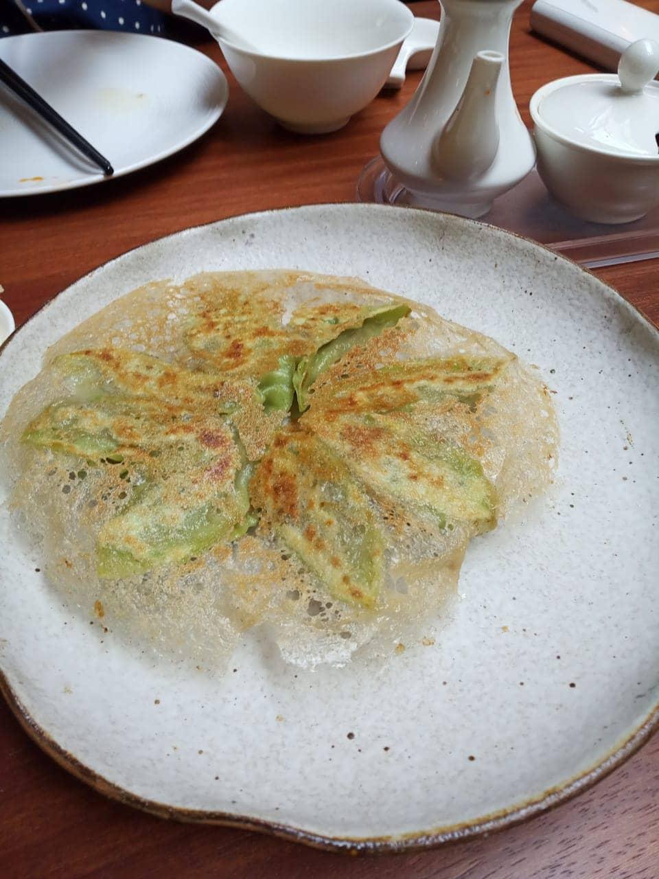 wasabi gyoza