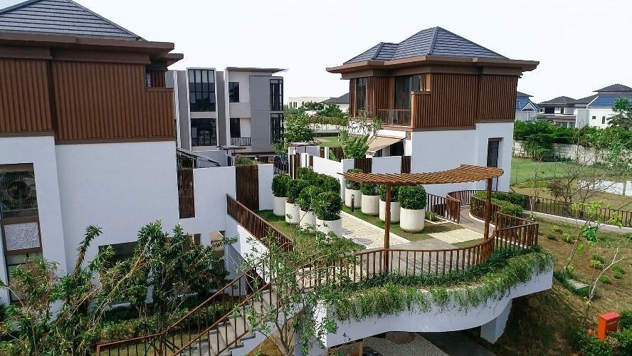 Perumahan Tangerang Unit Courtyard